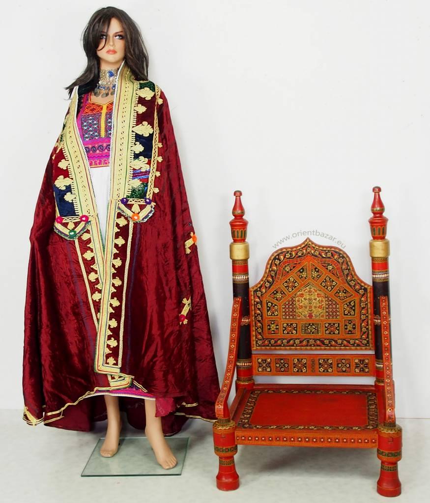 antik Nomaden Frauen Hochzeit Tschadur16/Rot