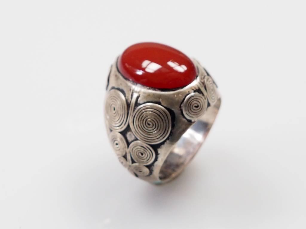 Karneol ring Nr:220