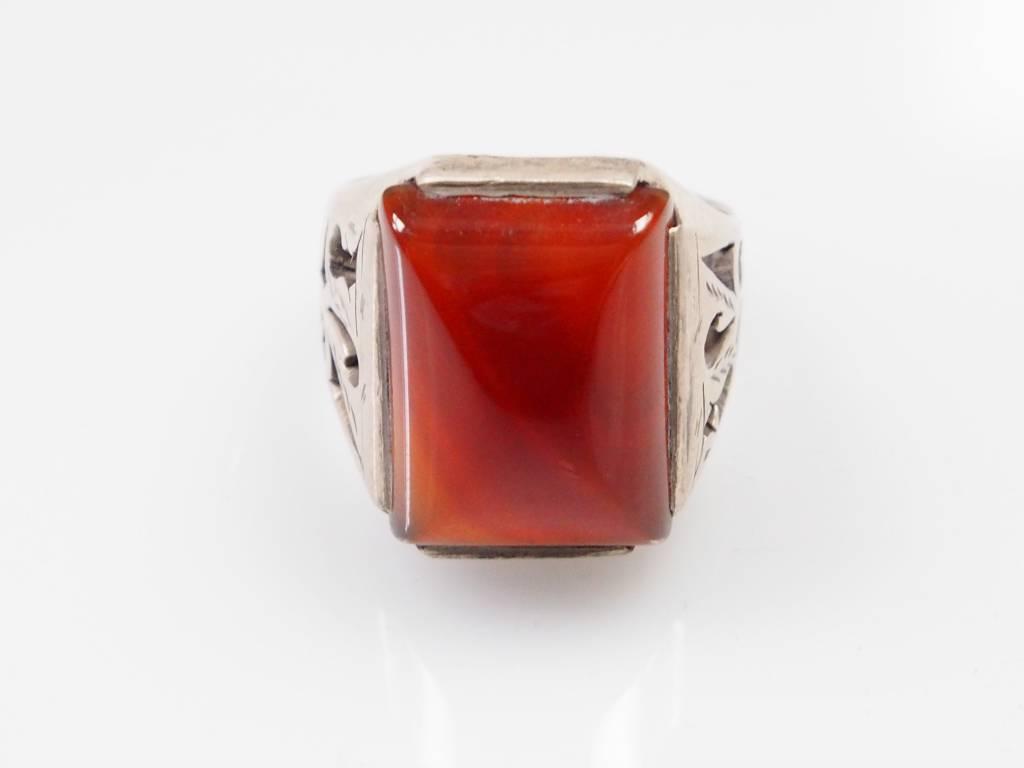 Karneol Amulett ring Nr:225