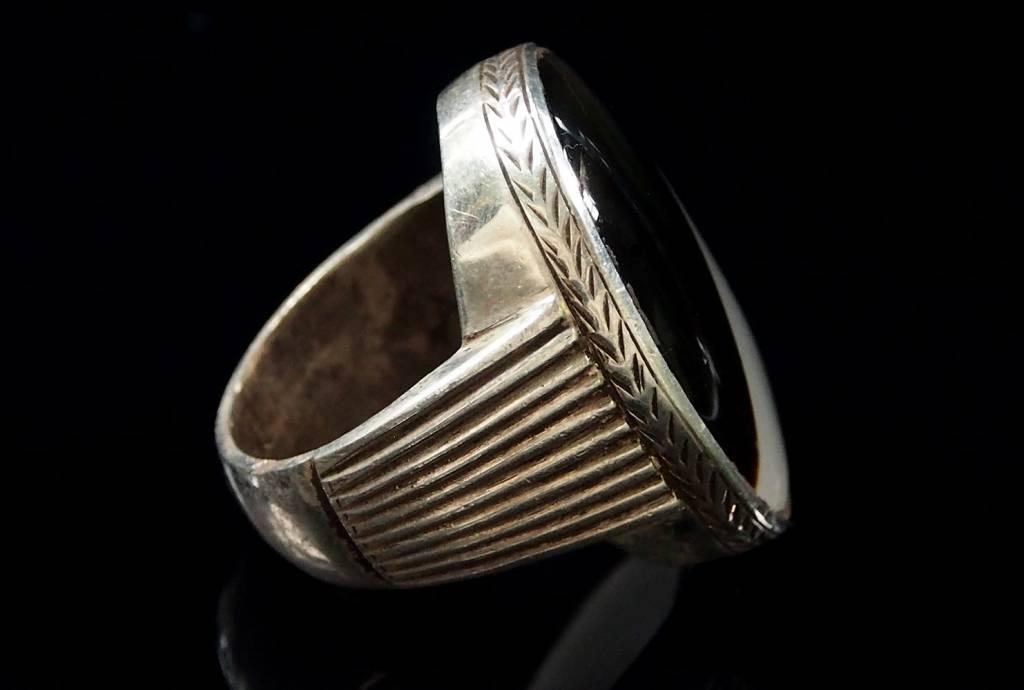 antik   Achat ring Nr:63