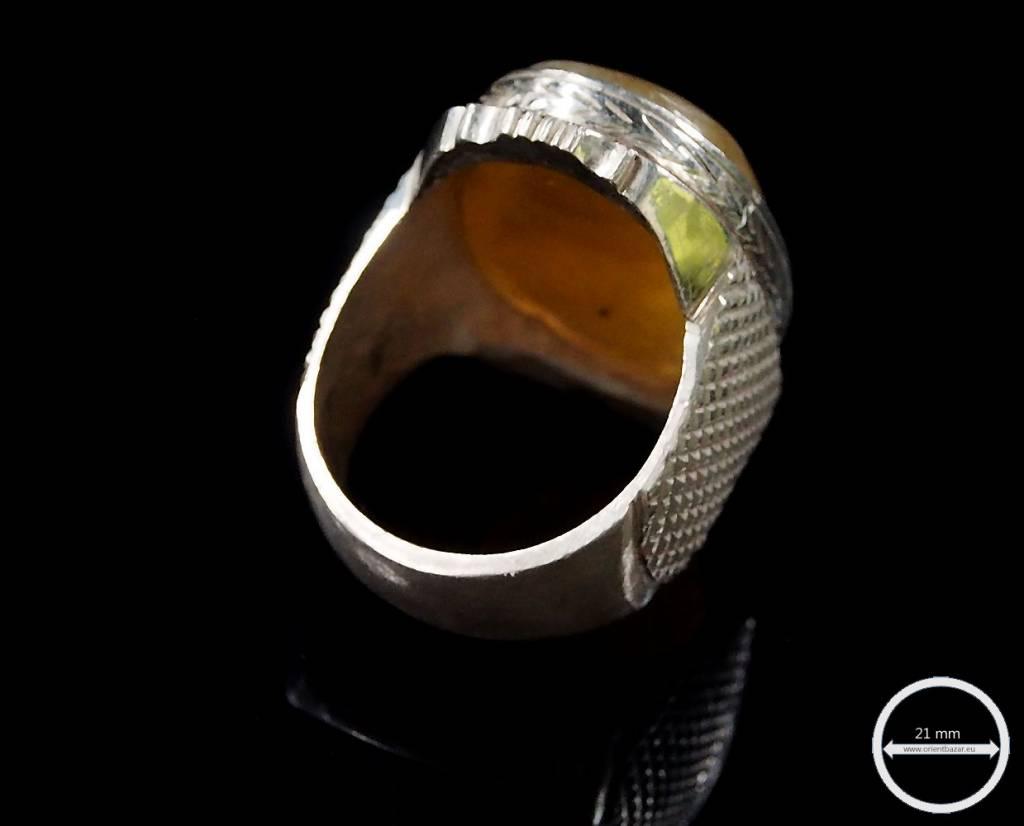 antik   Achat ring Nr:64