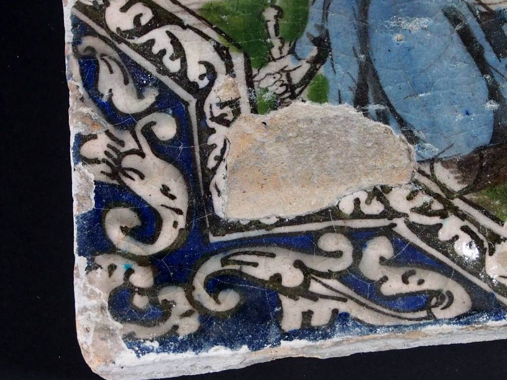 Antik islamische Persien Fliese Nr:A