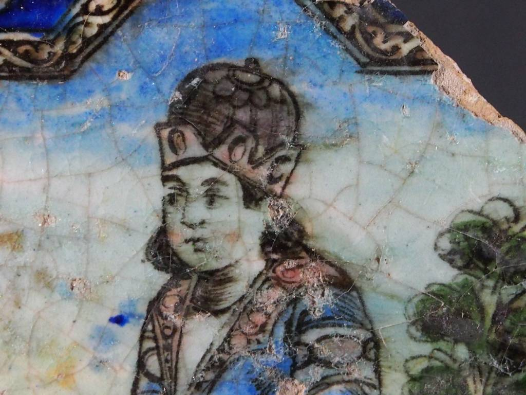 Antik islamische Persien Fliese Nr:E