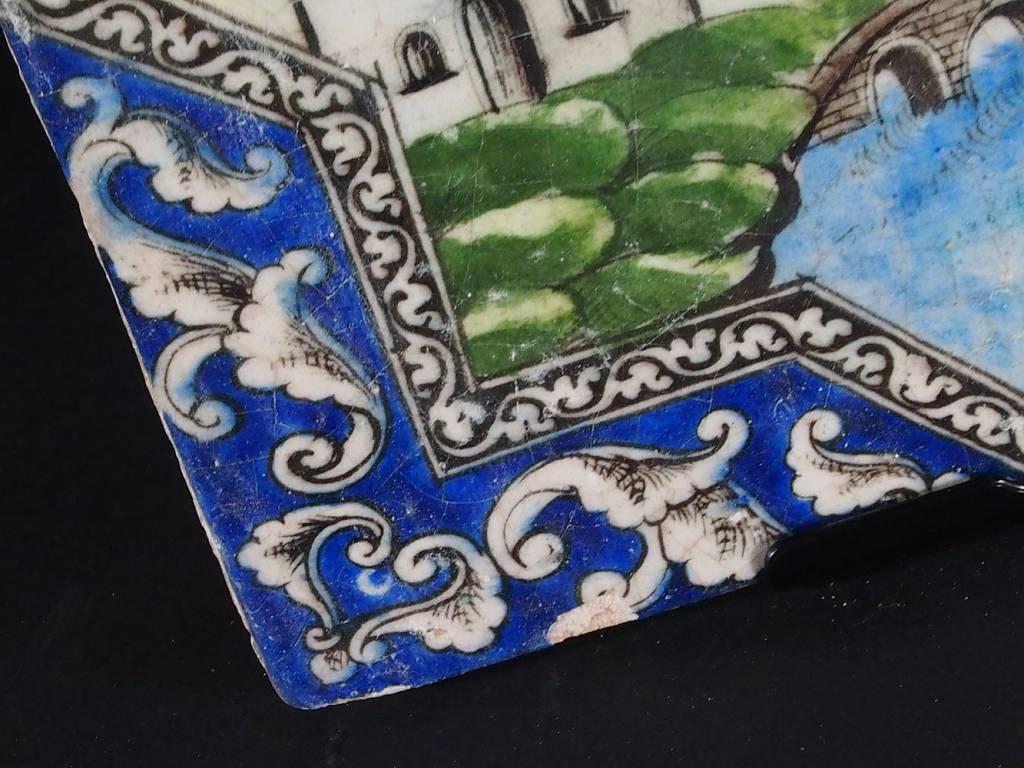 Antik islamische Persien Fliese Nr:F