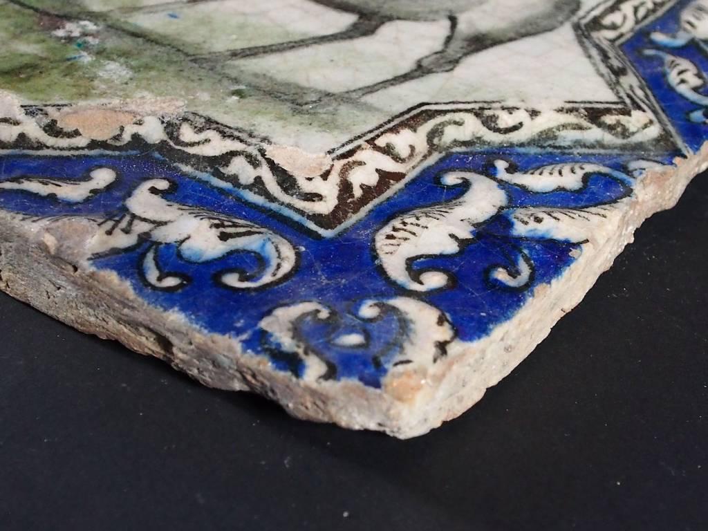 Antik islamische Persien Fliese Nr:H
