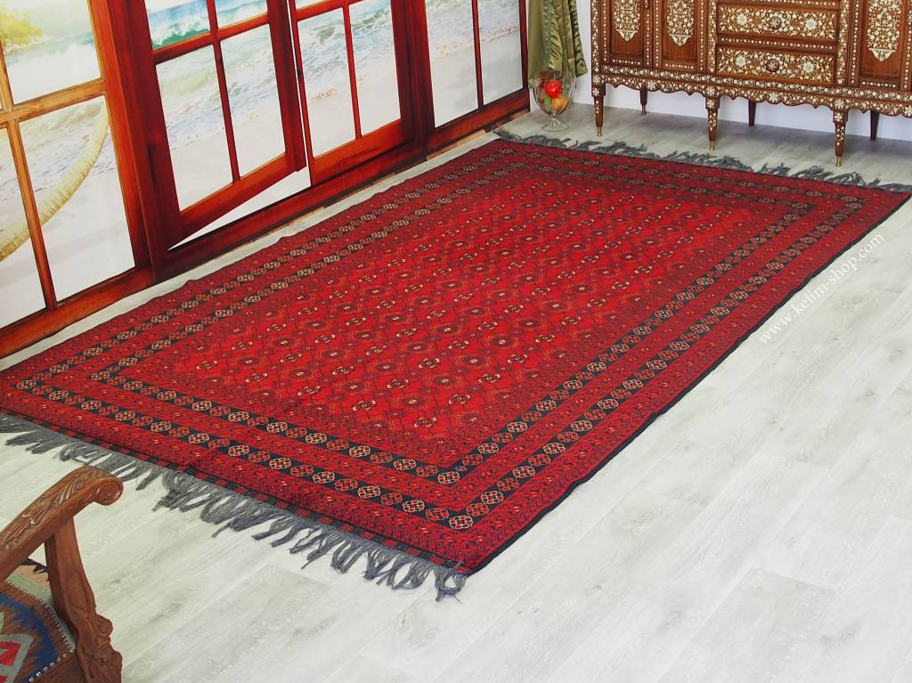Bukhara 305x198 cm Turkmenische Teppich Nr:16/5
