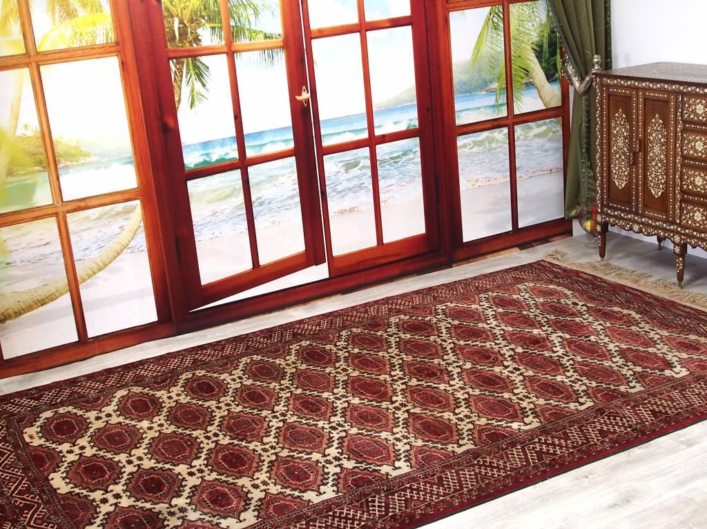 Bukhara 355x205 cm Turkmenische jemod Teppich Nr:16/10