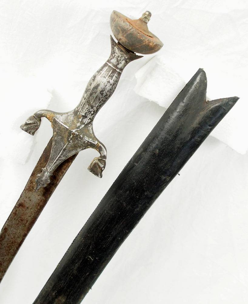 Antike Säbel messer schwert shamshir aus Afghanistan Nr:16/5