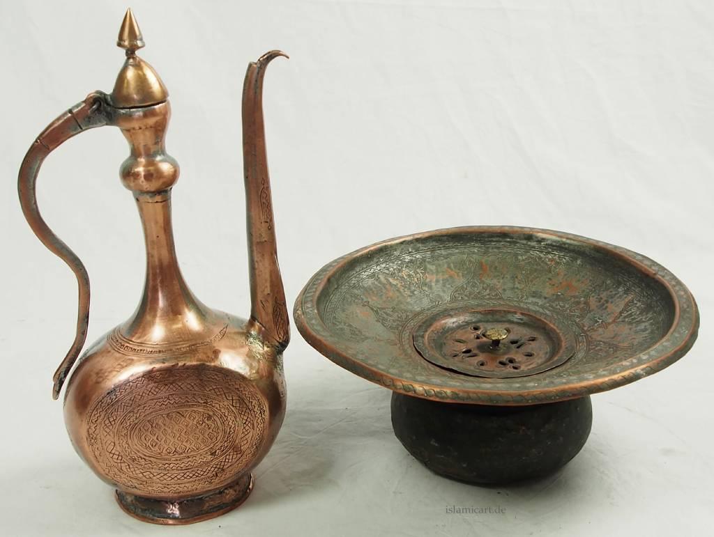 antike Kupfer waschgarnitur Nr:16/H