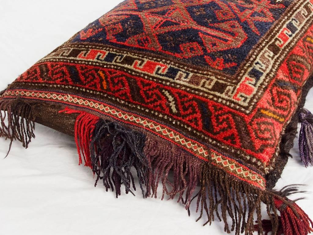 Antik orient Afghan Nomaden Sitzkissen 16/C