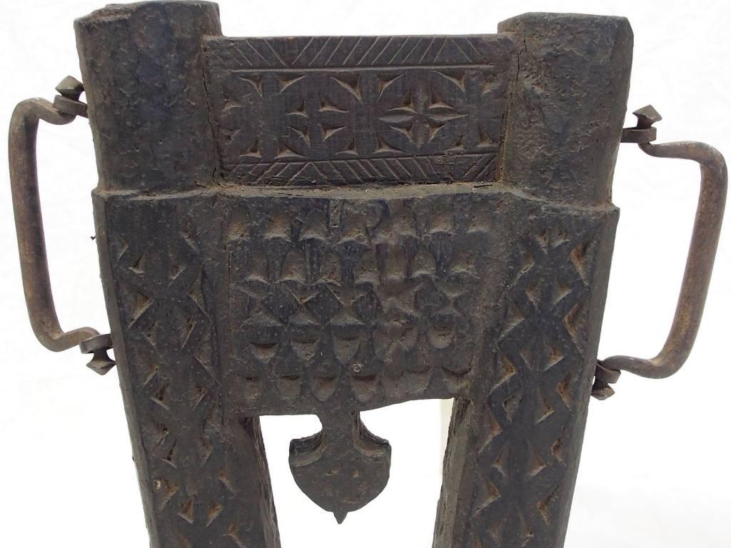 osmanische Holz Wandfackel Fackel  Nr:B
