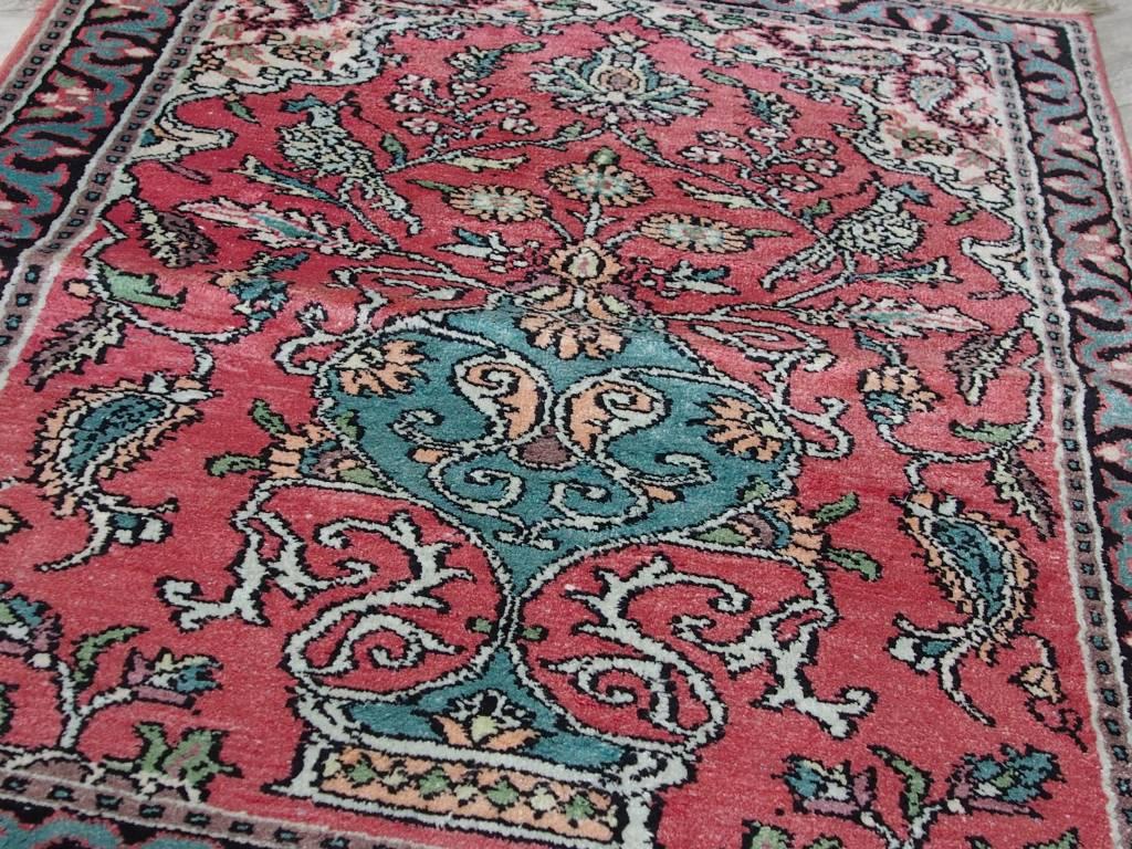 Bukhara 90x65 cm Kashmirseide Teppich Nr:77