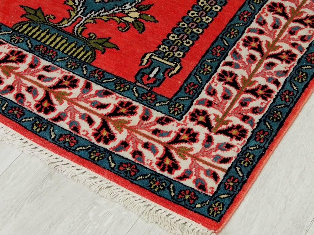 Bukhara 122x78 cm Kashmirseide Teppich Nr:78