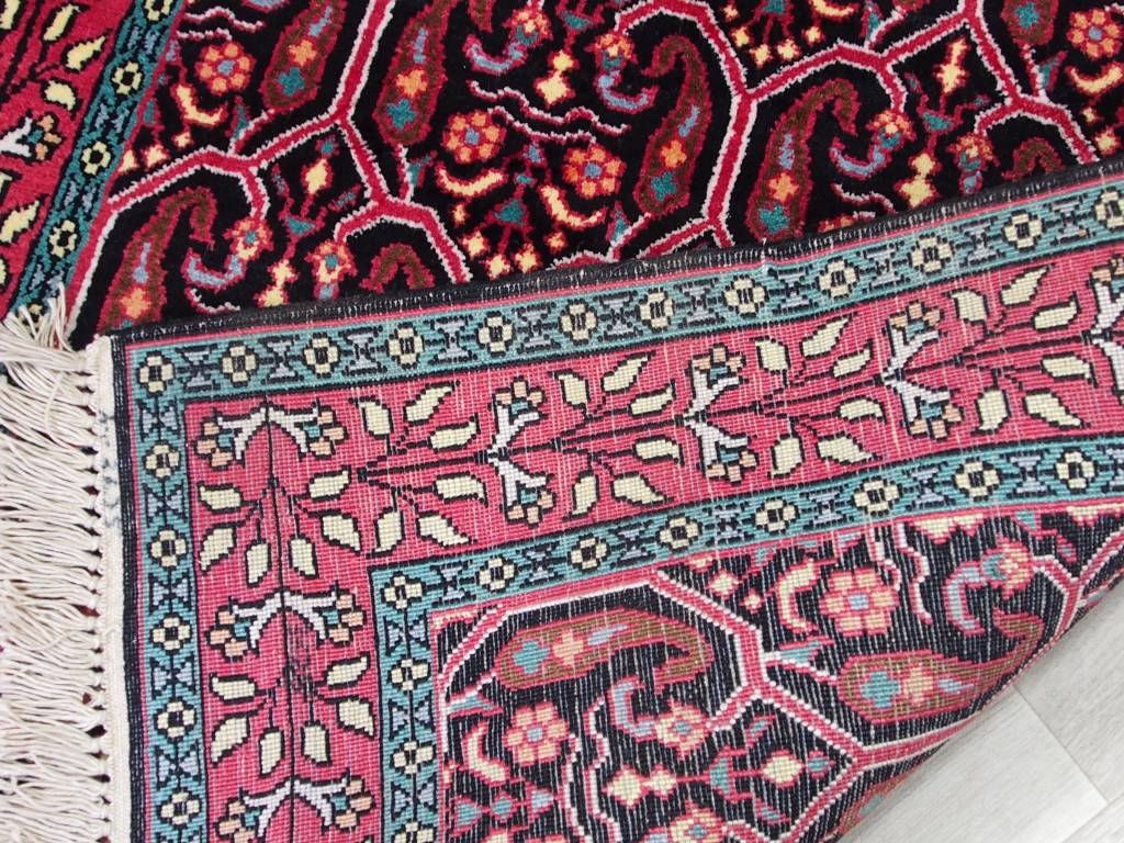 Bukhara 306x78 cm Kashmirseide Teppich Nr:107