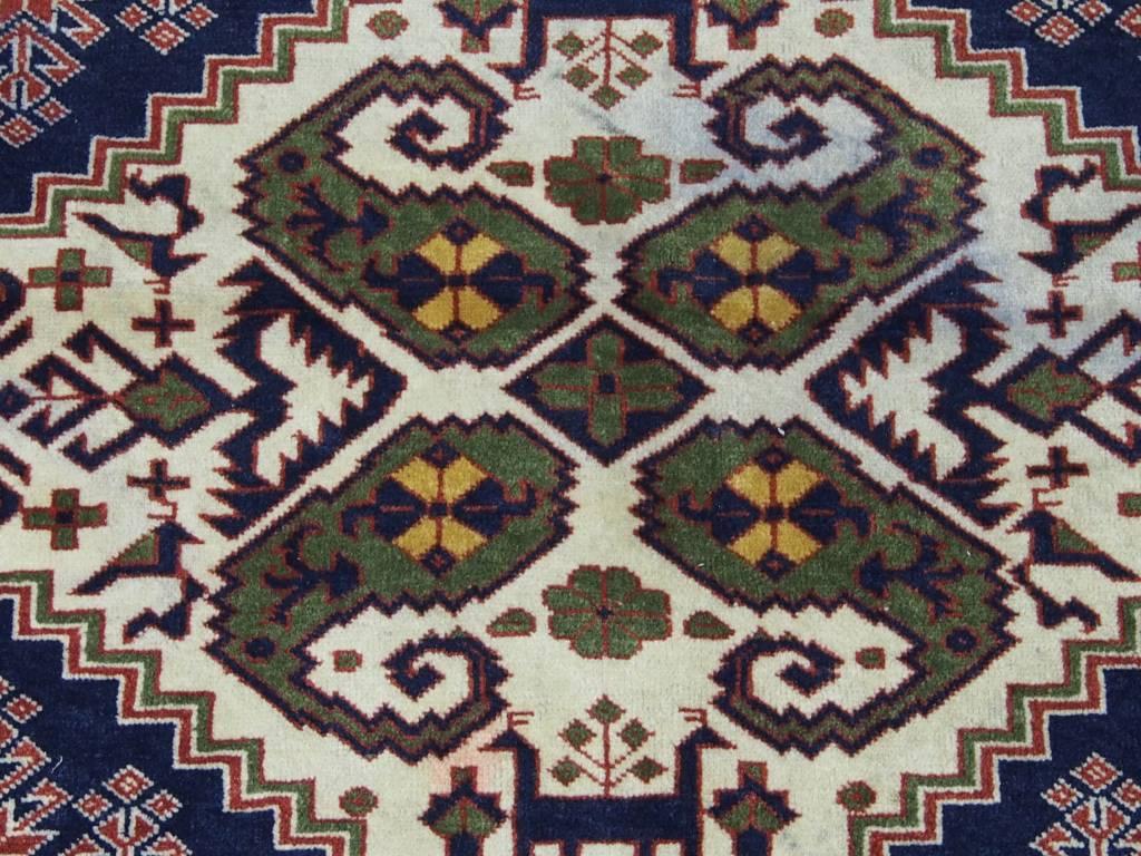 Bukhara  185x130 cm Afghan Nomaden Belotsch Orientteppich Wandteppich Qutan 17/3