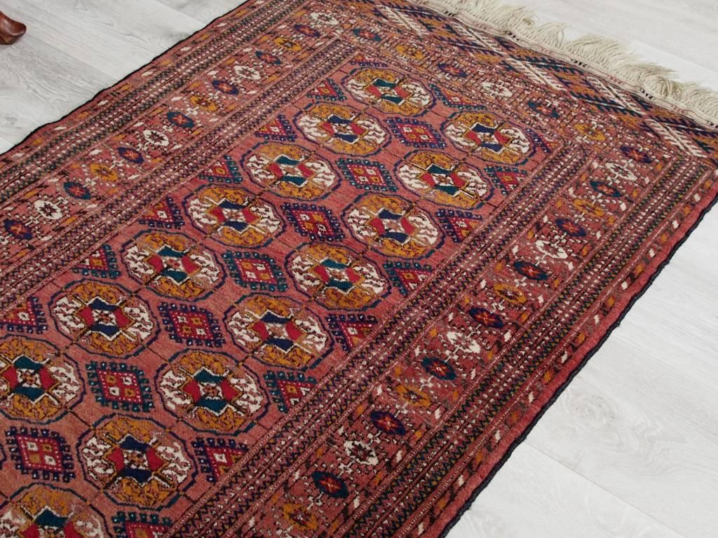 Bukhara  245x85 cm antik turkmen Buchara orientteppich tekke rug Carpet Bukhara Nr:17/10