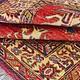 Bukhara 126x92 cm kaukasische kazak Afghan orientteppich kazakh rug Carpet ziegler Nr:522
