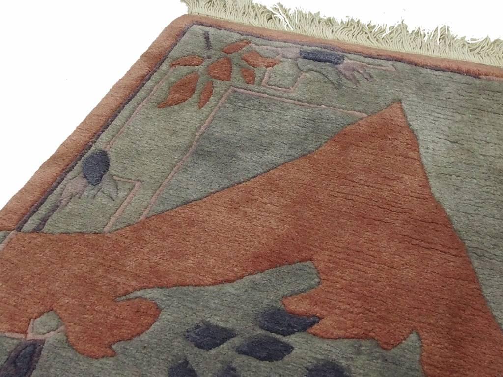 Bukhara 310x86 cm Original Echt Nepal orientteppich Handgeknüpft Gabbeh Teppich Nr-113