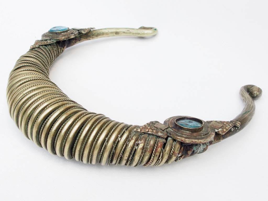 Spiral-Halsreifen  Afghanistan Nuristan Nr-17/6