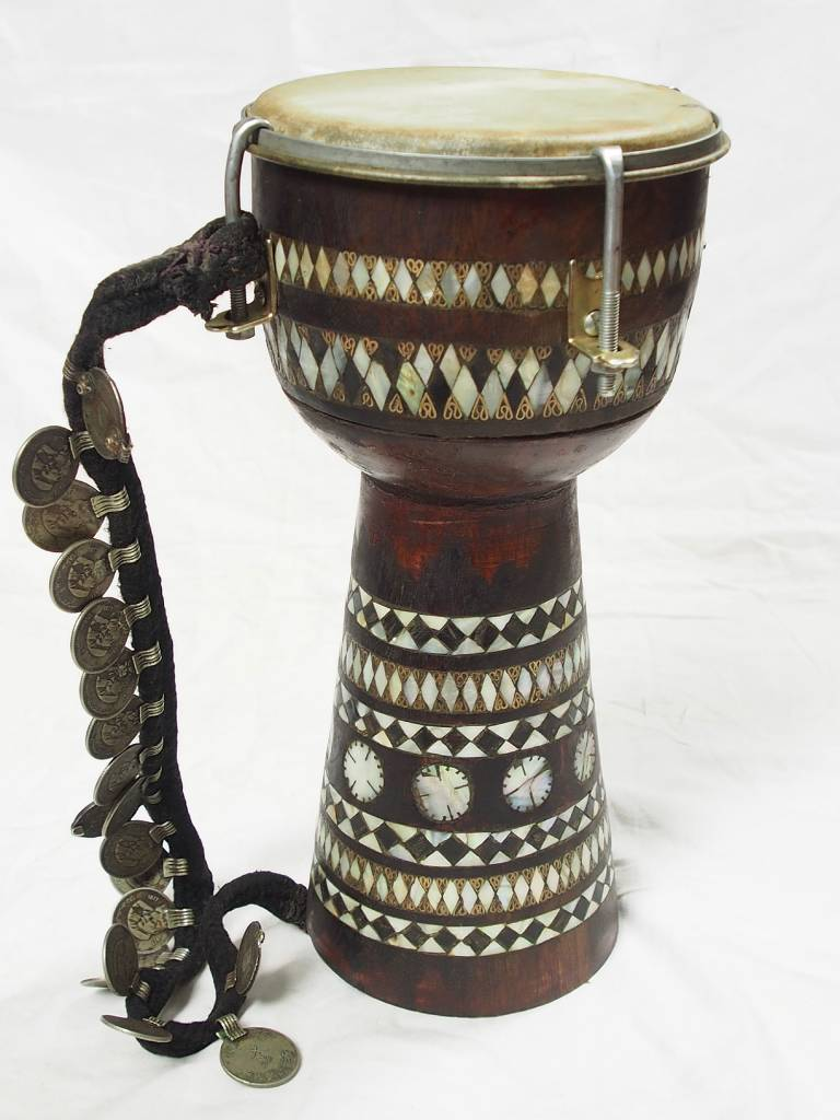 Afghan music instrument Zerbaghali Handtrommel No:17/B