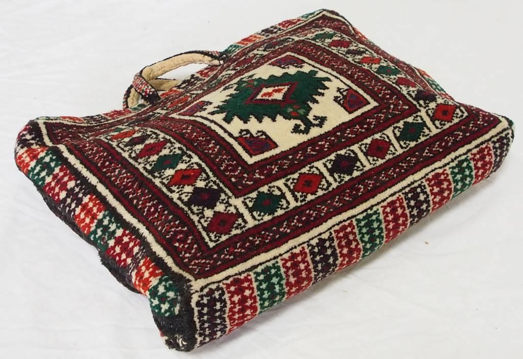 seltener handgeknüfte oreinttepich handtasche Tasche aus Afghanistan Nr:A17/123