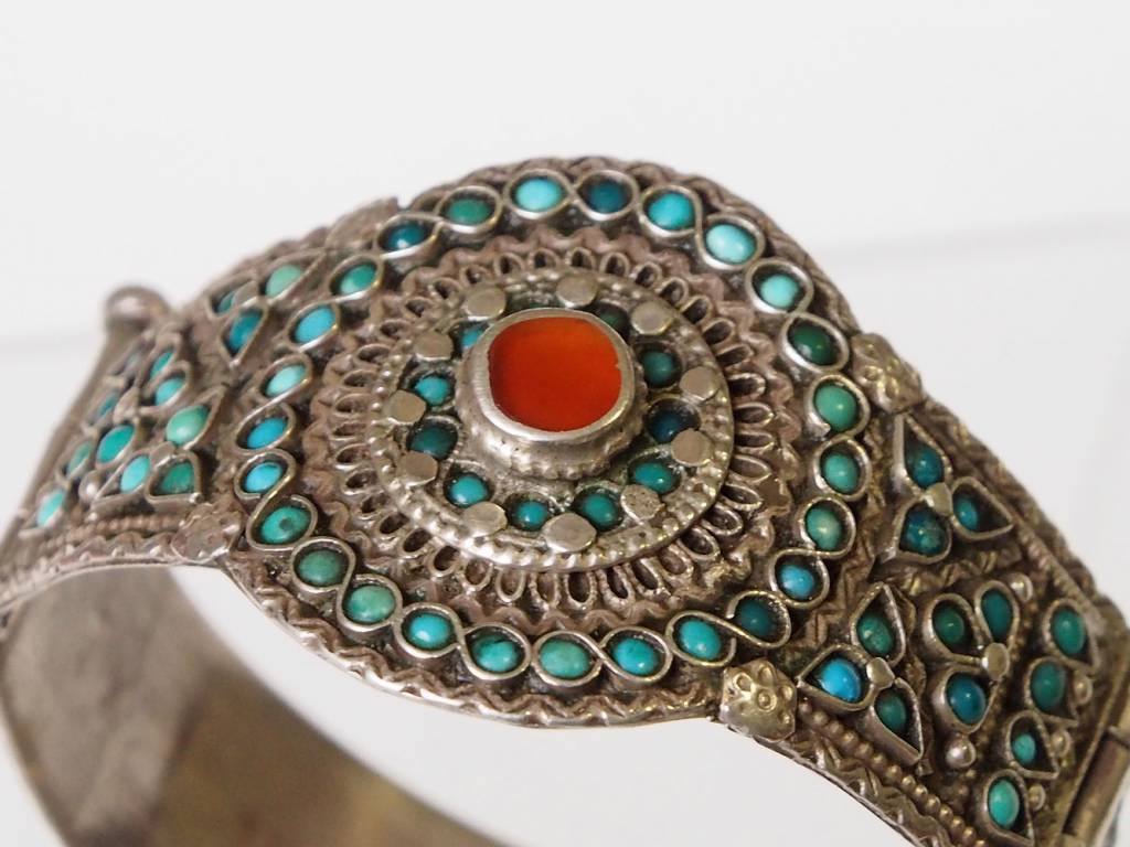 Afghan nomaden Silber Armreif  Nr:17/380