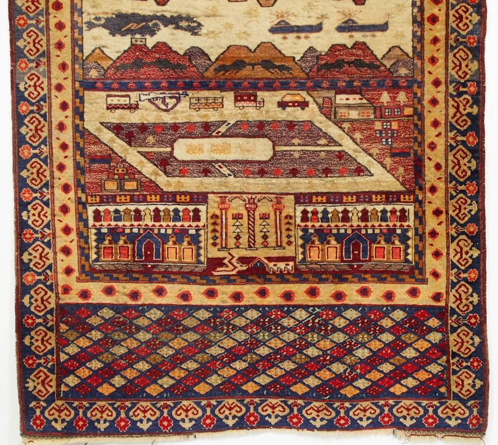genuine old nomadic Afghan Warrug Russian invasion period of Afghanistan No:17/5