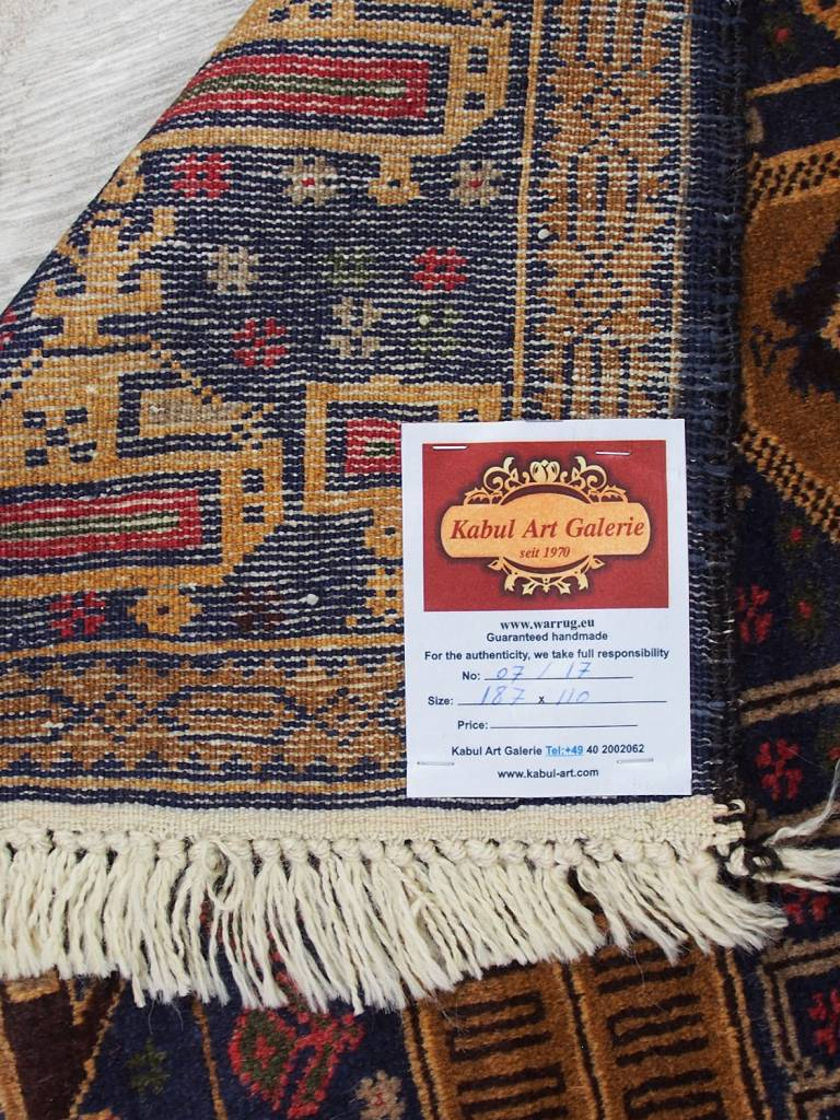 genuine old nomadic Afghan Warrug Russian invasion period of Afghanistan 17/7
