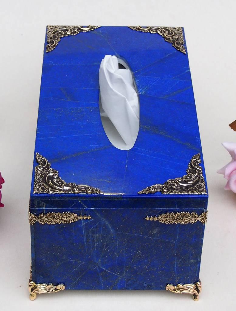 Lapis lazuli taschentuchbox