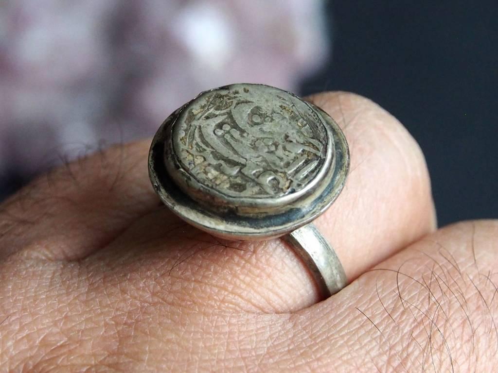 antik islamische Münzen Ring Nr:401