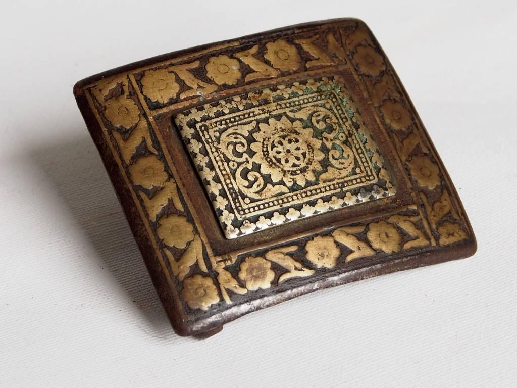 Antik  Gürtelschnalle aus Afghanistan  19 Jh. No:18/B
