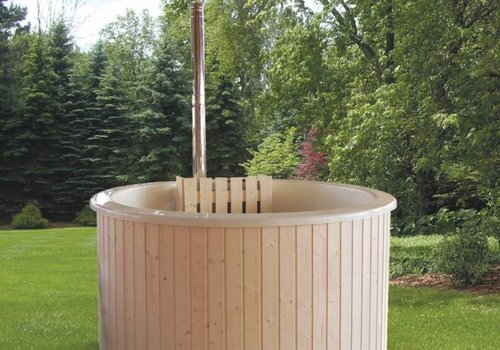 Interflex Hottub Fiberglass White