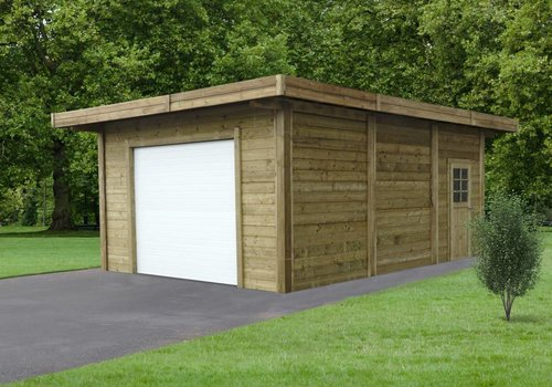 Solid Solid Carport-Garage S7756