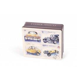 Stroopwafels in Blik Wheels Yellow Cars
