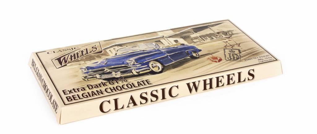 Wheels Giant chocolade reep puur