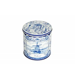 Stroopwafelsblik Delfts Blauw