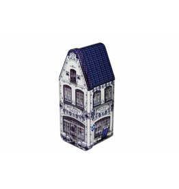 Stroopwafels in Delftsblauw blik winkel