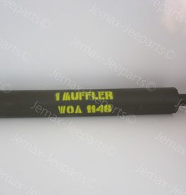 Willys MB Early Model Muffler