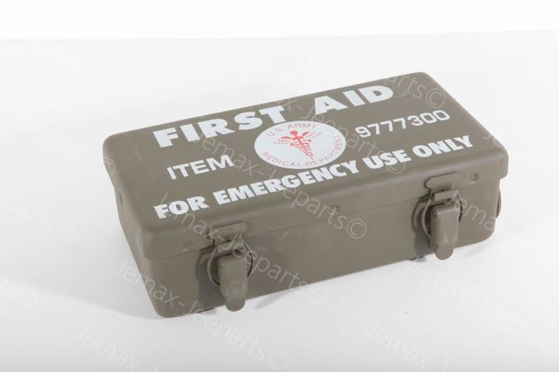Willys MB First Aid Kit