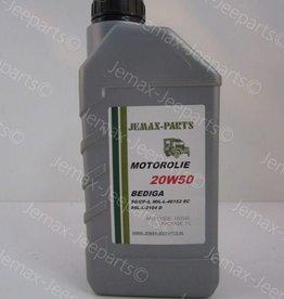 Olie en Vetten Motorolie 20W50 1L