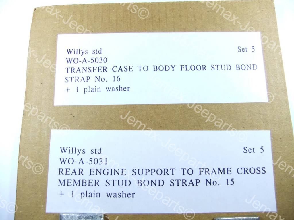 Willys MB Bond Strap Set 5