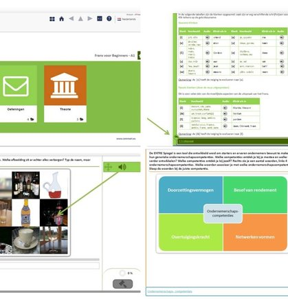 Create online modules for any subject area