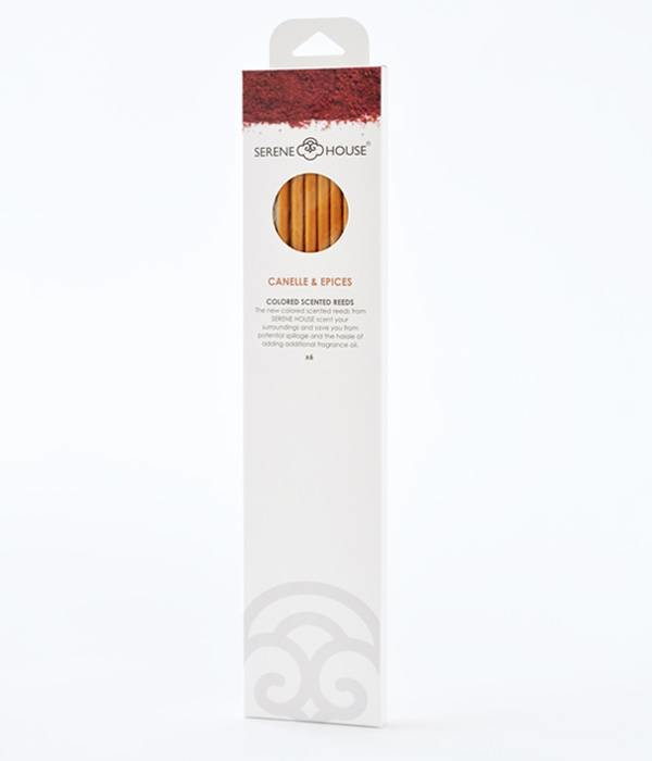 Canelle & Epices - colored perfume reeds