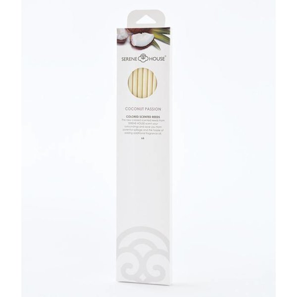 Coconut Passion - bâtonnets colorés préparfumés