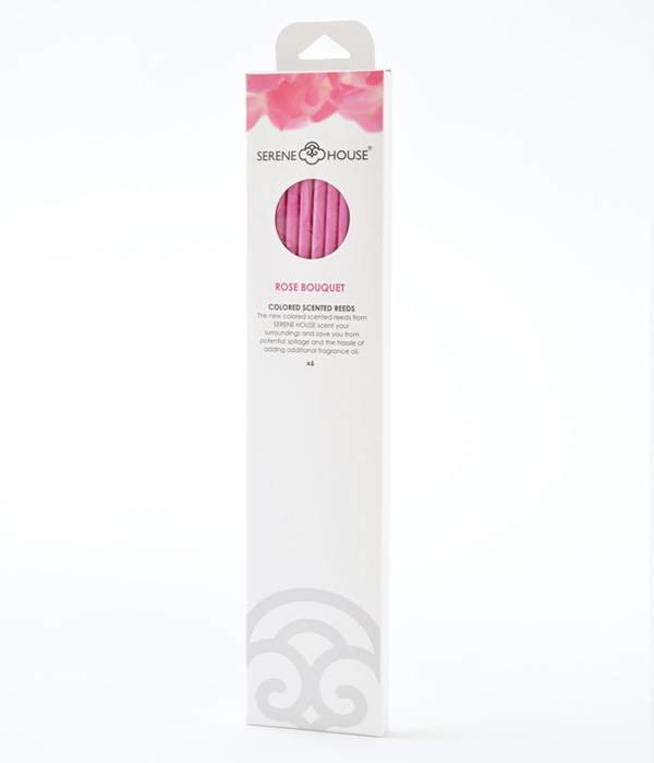 Rose Bouquet - coloured perfume reeds