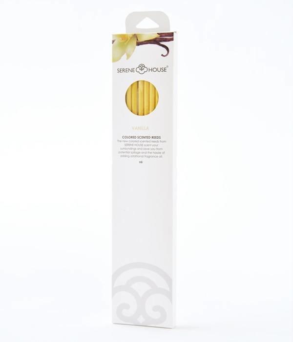 Vanilla - bâtonnets colorés préparfumés