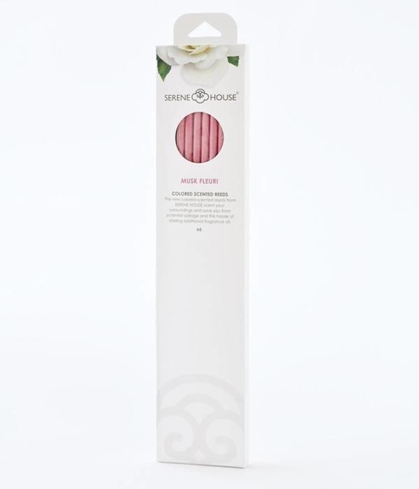 Musk Fleuri - colored perfume reeds