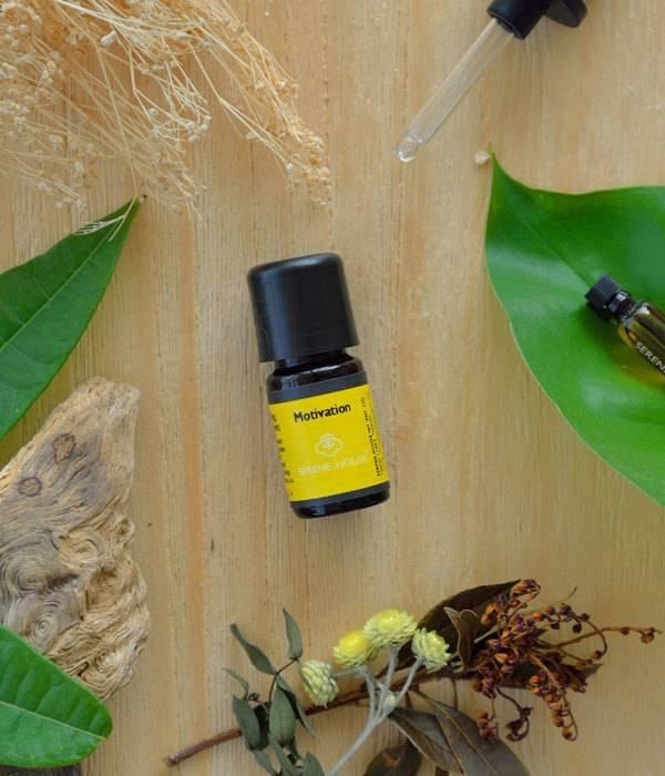 Motivation - natürliches ätherisches Öl