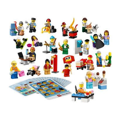 LEGO Education Community Minifigure Set