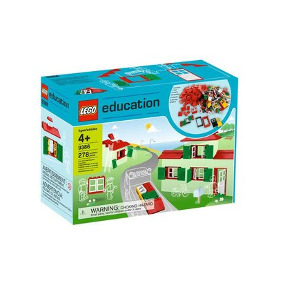 LEGO Education Doors, Windows & Roof Tiles Set
